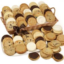 cookie gifts rectangle assorted cookie gift basket get well shop by