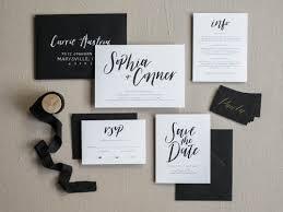 wedding invitation suite semi custom invitation suites la rue pulido