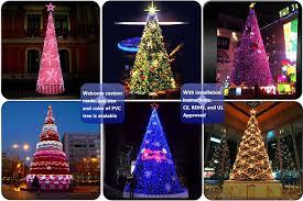 20ft 30ft 40ft 50ft giant outdoor lighting led christmas tree