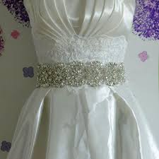 Wedding Sashes 2017 2015 New Vintage Wedding Bride Dress Waist Belt Manual Luxury