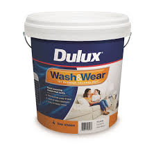 Spray Paint Bunnings - dulux 10l vivid white low sheen wash u0026wear interior paint