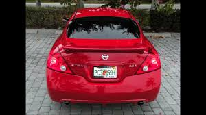 nissan altima coupe rear spoiler 2010 nissan altima coupe red for sale auto haus of fort myers fl
