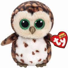ty beanie boo u0027s white owlette owl regular michaels