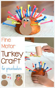 motor turkey craft for thanksgiving buggy and buddy