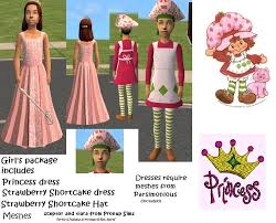 Strawberry Shortcake Halloween Costumes Mod Sims Halloween Costumes Ages