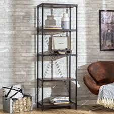 mercury row hera etagere bookcase u0026 reviews wayfair