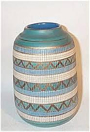 Italian Vase Bitossi Seta 7 Inch Midcentury Italian Vase Italian Midcentury