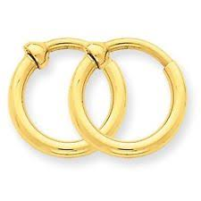 gold clip on earrings 14k gold clip on earrings ebay