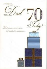 dad happy 80th birthday card large size