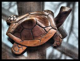 carved wood turtle from jamaica purchased at montego flickr