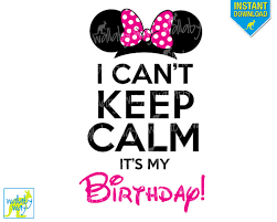 u0027t calm u0027s birthday minnie ears pink bow