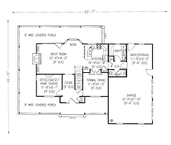 House Plans Single Level Single Level Country House Plans House Design Plans
