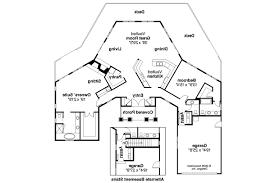 modern style house plan 3 beds 25 baths 2557 sqft plan 48476