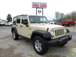 2011 Wrangler 2011 Sahara Tan Jeep Wrangler Unlimited Rubicon 4x4 63169838