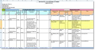 Data Mapping Excel Template Sdlc Design Phase Samples