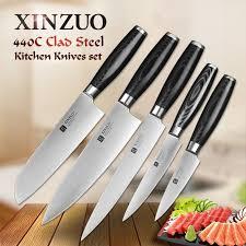 sets of kitchen knives xinzuo 5 kitchen knife set webuyblack com buy black owned