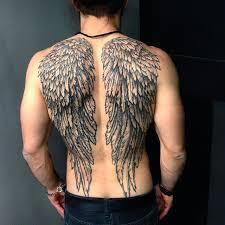 white ink wings tattoos wings