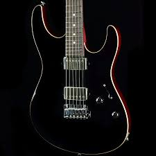 suhr custom modern gloss black with pete thorn wiring and