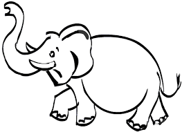 elephant drawing kids free download clip art free clip art