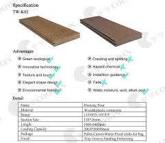 latest selling wood polymer composite fibra deck board buy