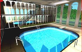 big houses with indoor pools