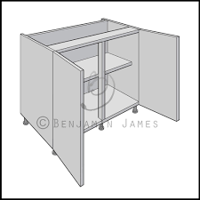 kitchen sink base cabinet 2 door and 1 bottom drawer sink base