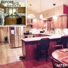Kitchen Makeover Images - 5 before and after kitchen makeovers