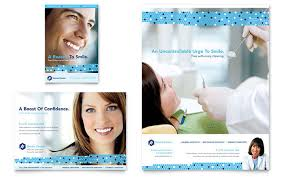 dentistry u0026 dental office newsletter template design