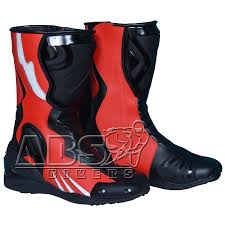 motorcycle track boots bike racing boots abs bikers