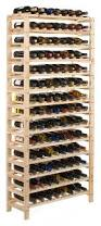 piquant diy wood wine rack kit square x insert kitchen by