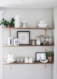 kitchen wall shelf ideas kitchen shelves help to declutter your kitchen being practical and