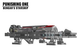 lego ideas punishing one dengar u0027s starship