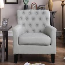 gray living room chair grey accent chairs you ll love wayfair