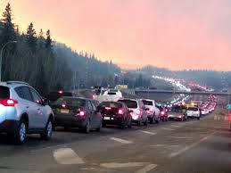 Wildfire Radio by Entire Alberta City Of Fort Mcmurray Evacuated Due To Raging