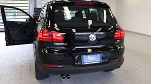 black volkswagen tiguan 2016 volkswagen tiguan deep black pearl stock 110731 walk
