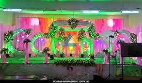 wedding reception decoration at tittagudi tamilnadu wedding