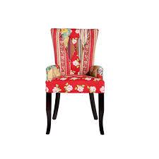 Esszimmerstuhl Textil Design Patchwork Stuhl Ibiza Mehrfarbig Textil Mit Armlehne