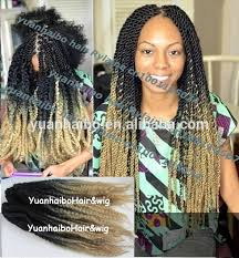 difference between afro twist and marley hair wholesale cheap price 20inch folded black blonde synthetic two