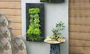 planters that hang on the wall wall planter indoor living room how to make an indoor living wall