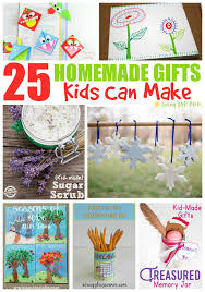 home made gifts 25 homemade gifts kids can make living well mom