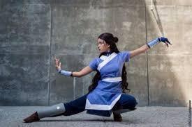 Halloween Avatar Costume Dress Blue Blue Dress Blue White Light Blue Ninja Costume