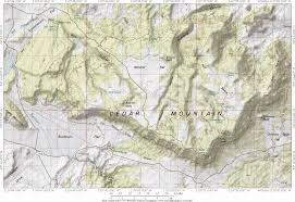 Topographic Map Of Utah by Photography In The Northern San Rafael Swell Utah