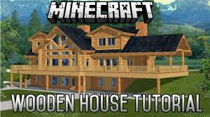 minecraft epic wooden house tutorial part 7 1 8 1 february 2015