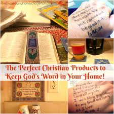 christian products the christian products to keep god s word in your home