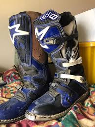 alpine motocross boots alpine stars size 11 tech 8 motocross boots in ferryhill county