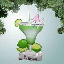 occupations bartender ornaments lime margarita