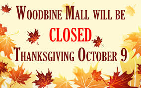 yorkdale mall thanksgiving hours woodbine mall