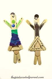 yarn wrapped craft stick dolls u2013 the pinterested parent
