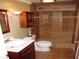 finished bathroom ideas redoubtable how to build basement bathroom