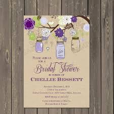 jar bridal shower invitations jar shower invitation jar bridal shower invite in